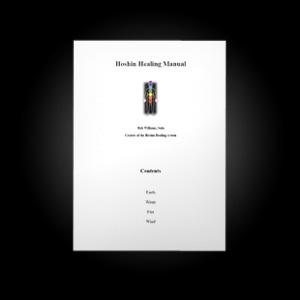 Hoshin Healing Manual
