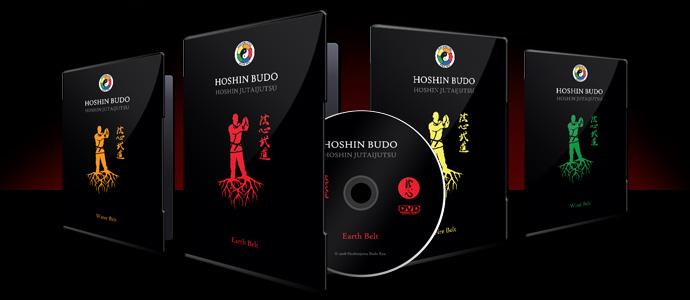 Hoshin Jutaijutsu Training DVDs